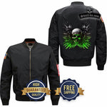 Flight Jacket Skull&Skeleton