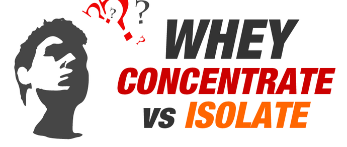 Whey Protein: Concentrate vs Isolate