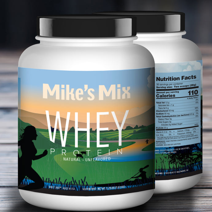 Mike's Mix Unflavored Whey Protein