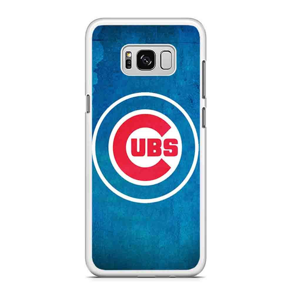 Chicago Cubs Cool Logo Wallpaper Samsung Galaxy S8 Plus Case