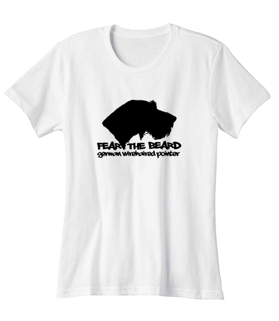 Fear The Beard German Wirehaired Pointer Woman\'s T-Shirt – Teespedia