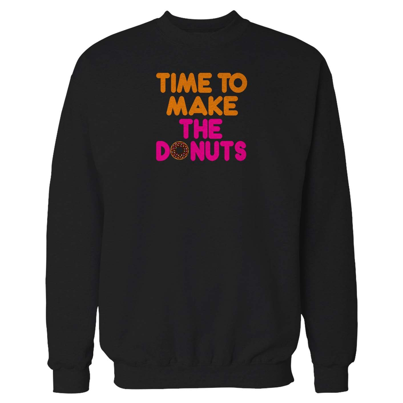 Time To Make The Donuts Vintage Dunkin Donuts Old School Donut Funny