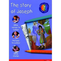 The Story of Joseph: Bible Colour and Learn 7