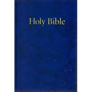 25A/BL Windsor Text Blue Hard Back KJV