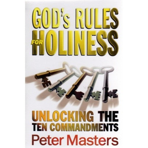 God's Rules for Holiness