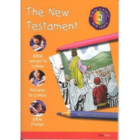 The New Testament: Bible Colour and Learn 2
