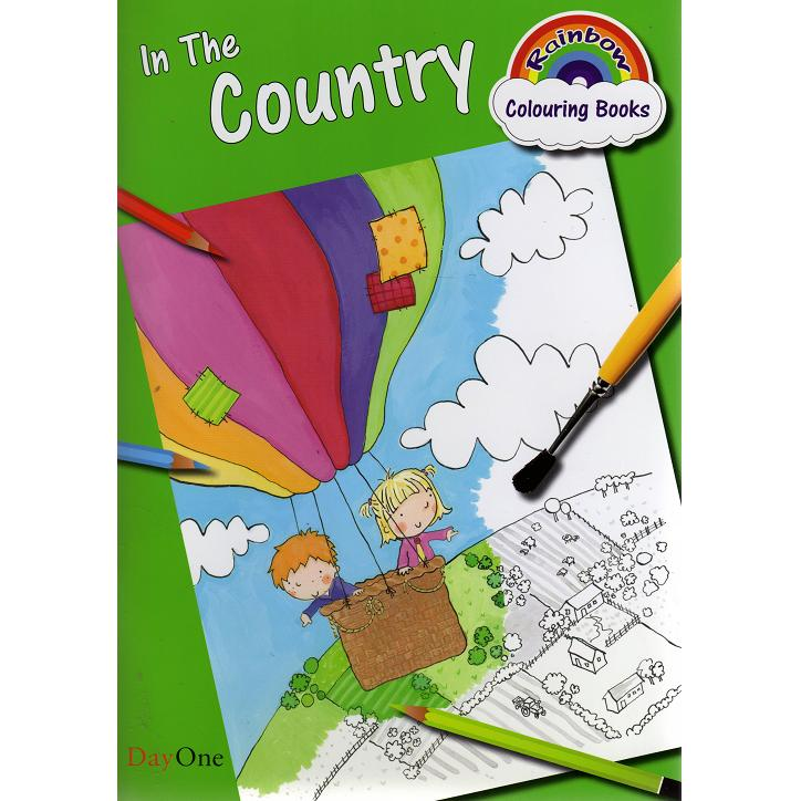 In the Country - Colouring Book