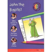 John the Baptist: Bible Colour and Learn 12
