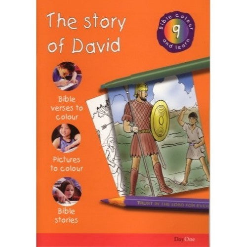 The Story of David: Bible Colour and Learn 9