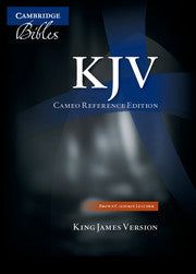 KJV Cameo Reference Edition KJ452:XR, Imitation leather