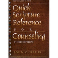 Quick Scripture Reference for Counselling