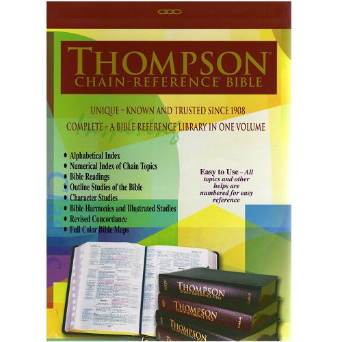 519 KJV Thompson Chain Large Print