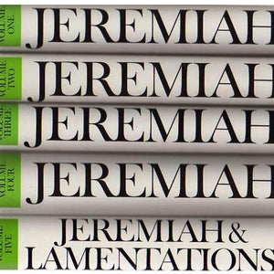 Jeremiah & Lamentations [5 vol. set]