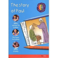 The Story of Paul: Bible Colour and Learn 14