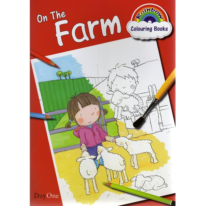 On the Farm - Colouring Book