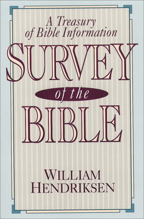 Survey of the Bible, 4th Edition