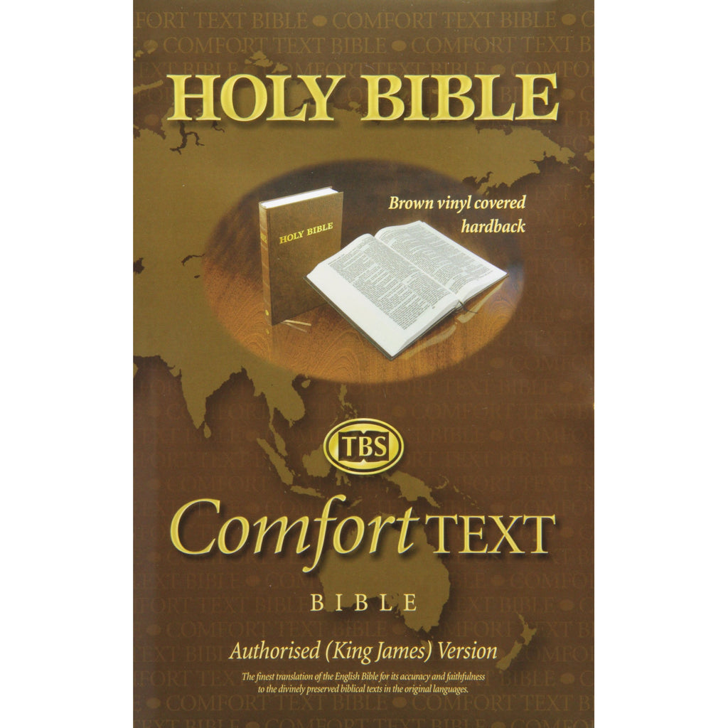 1A/BR Comfort Text Brown Hardback