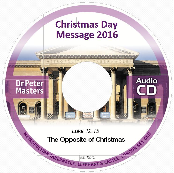 Christmas message CD