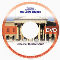 School of Theology 2019 /Complete Set DVDs