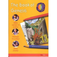 The Book of Genesis: Bible Colour and Learn 3