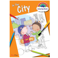 In the City - Colouring Book