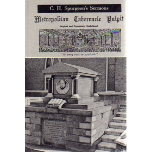Metropolitan Tabernacle Pulpit -  Volume 38