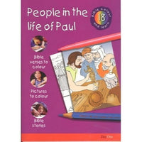 People in the Life of Paul: Bible Colour and Learn 18