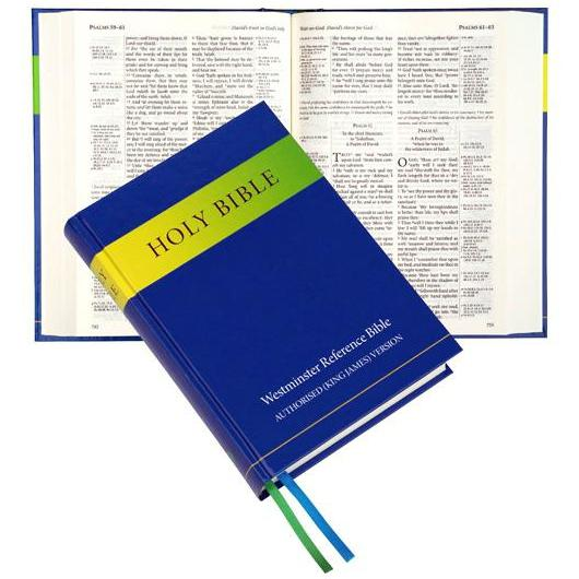 90C Westminster Reference Bible KJV