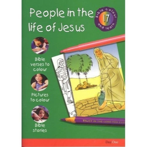 People in the Life of Jesus: Bible Colour and Learn 17