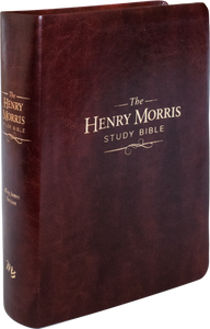 The Henry Morris Study Bible KJV. (Imitation Leather)
