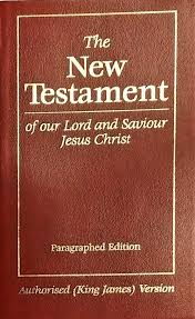 The New Testament - Paragraphed Edition Red 55/SBG
