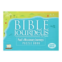 Bible Journeys: Paul's Missionary Journeys Puzzle Book