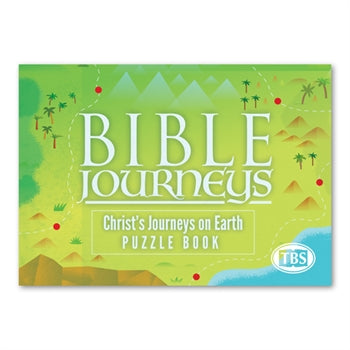 Bible Journeys: Christ's Journeys on Earth Puzzle Book