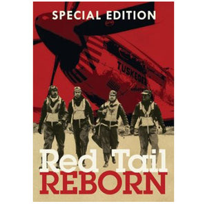 "DVD - Emmy Award winning ""Red Tail Reborn,"" narrated by Michael Dorn,"