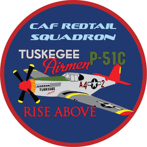 CAF Red Tail Squadron Patches