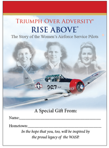 Booklet - RISE ABOVE: The Story of the WASP