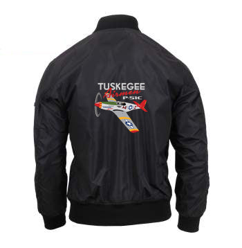 MA-1 Flight jacket - Red Tail, Mens and Ladies