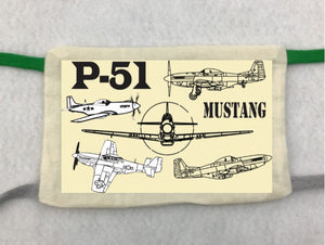 WWII AIRCRAFT GROUP TIE MASKS