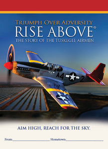 Booklet - RISE ABOVE: The Story of the Tuskegee Airmen