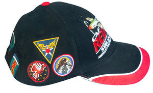 Squadron Patches of the Tuskegee Airmen hat