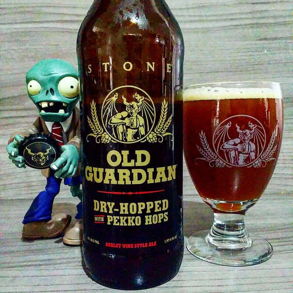 Stone - 2016 Old Guardian - Pekko Dry Hopped