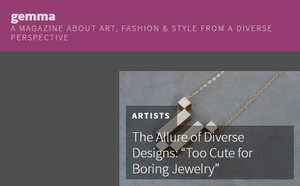 TCB Jewelry Featured on Gemma Magazine!