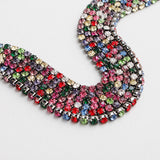 Colorful Stone Beaded Choker
