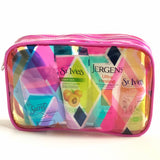 Abstract Print Cosmetic Bag