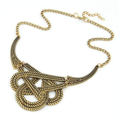 Metal Rope Necklace