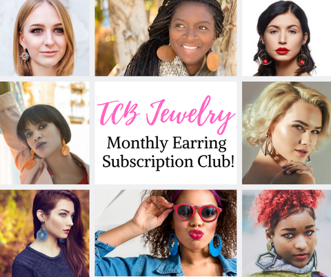 $5 Earring Club Subscription - Annual Payment