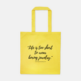 TCB Jewelry Quote Bag