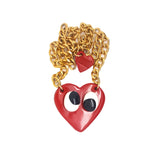 FOOLISH HEART NECKLACE