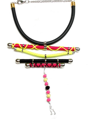 Artistic Multi-Strand Necklace