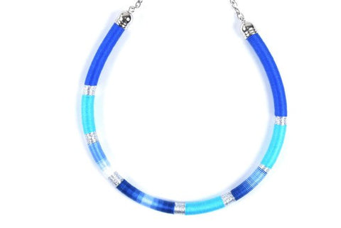 Shades of Blue - BASIC BY ZENA.DYETE necklace